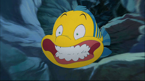 Disney's Flounder - Little Mermaid
